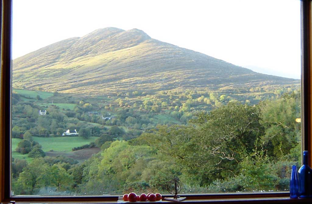 The Knockatee Mountain in Ardea Tuosist, co. Kerry, Ireland