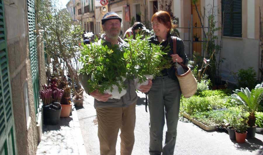 Market day in Porreres, Mallorca